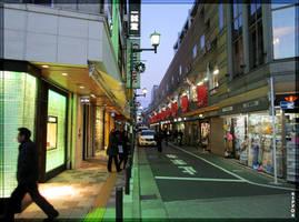Evening Street by wotawota