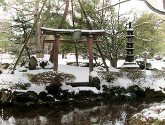 Kenrokuen - Sekirei-jima by wotawota