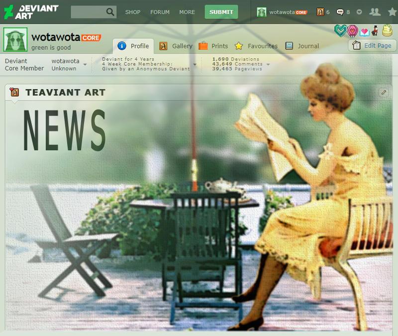 TEAviant News (UpDate)