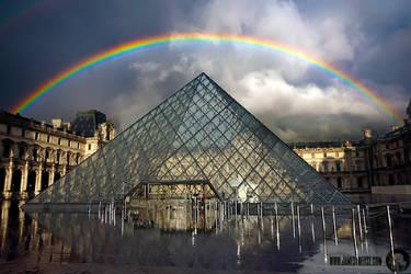 The Louvre by Trezizi
