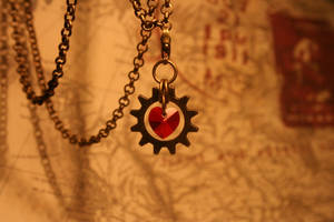 Mechanics of Love Necklace by turnerstokens