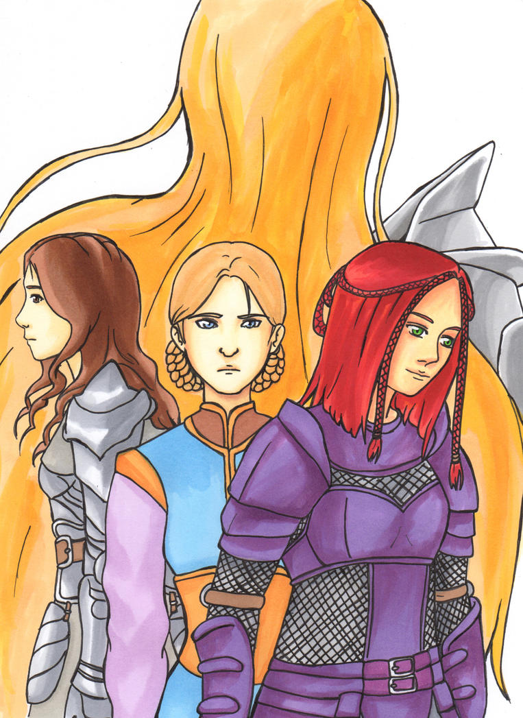 The Queens of Ferelden by LadyCyco