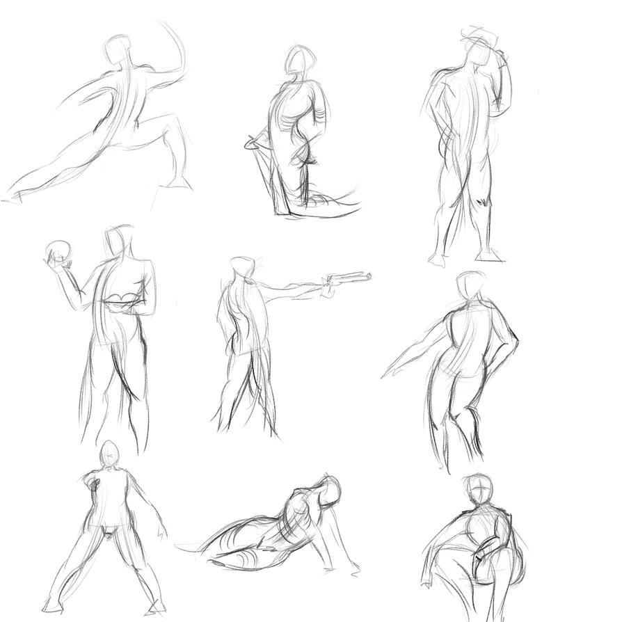 Gestures 21 by Reortanath