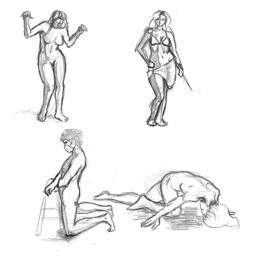 Gestures 22 by Reortanath
