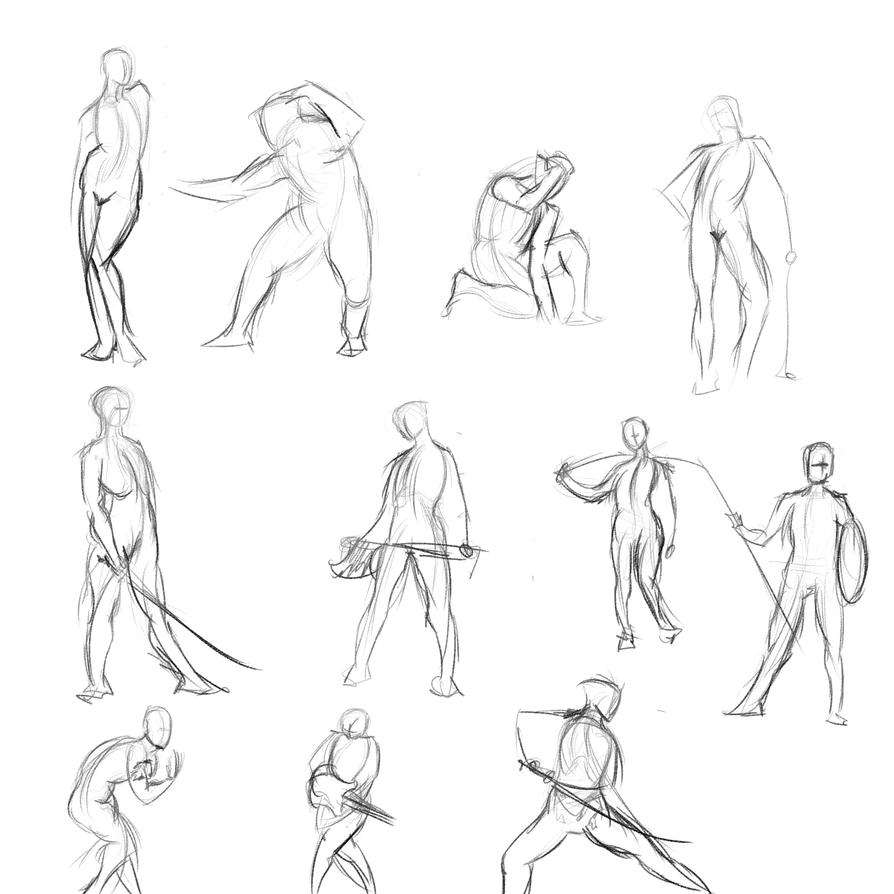 Gestures 24 by Reortanath