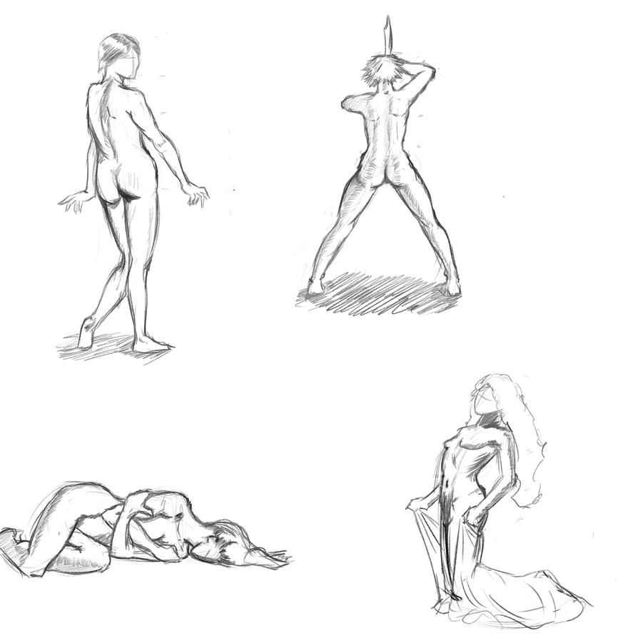 Poses 1 by Reortanath