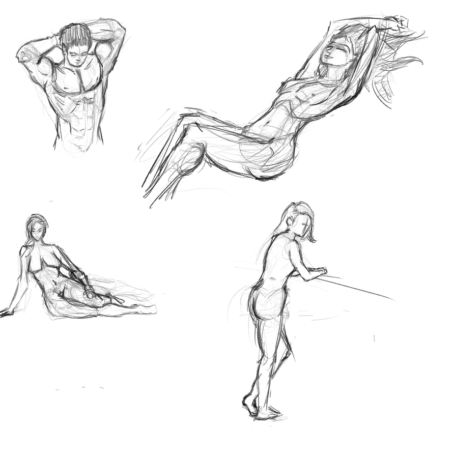 Poses 4 by Reortanath