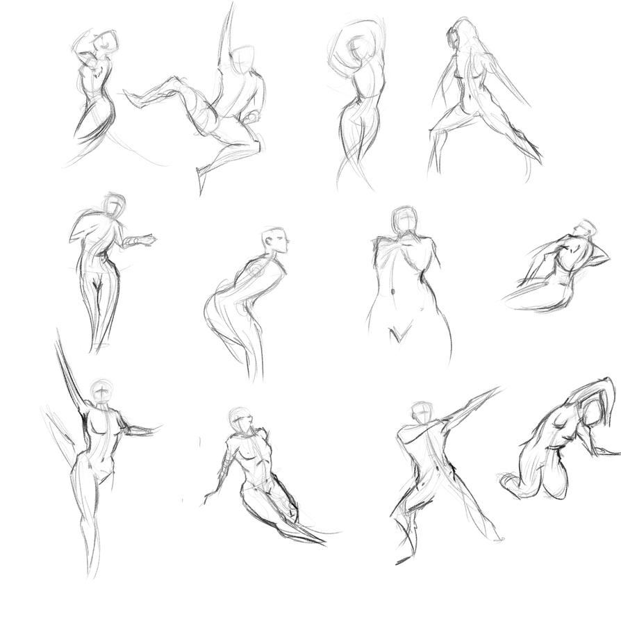 Gestures 38 by Reortanath