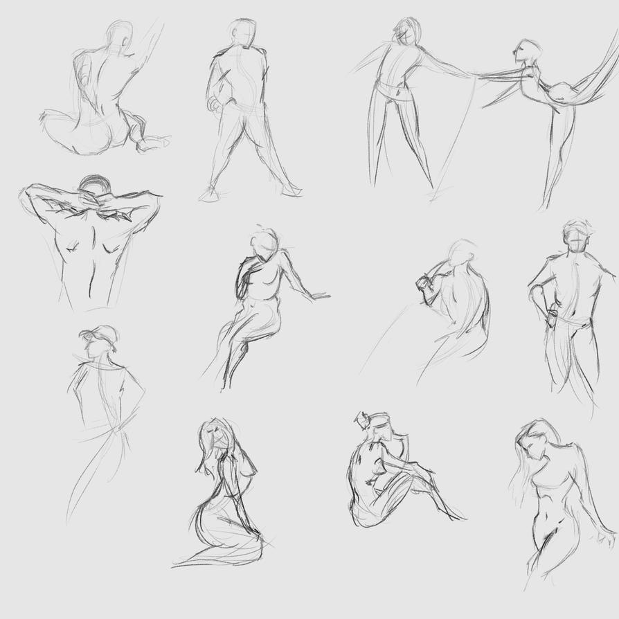 Gestures 39 by Reortanath