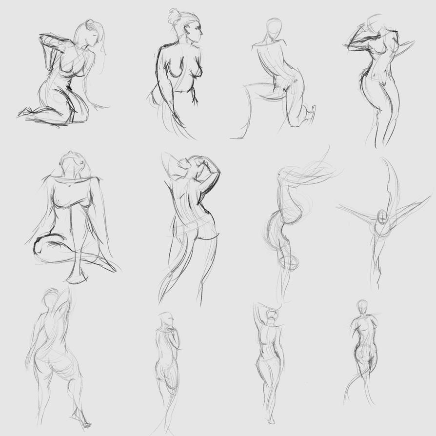 Gestures 40 by Reortanath