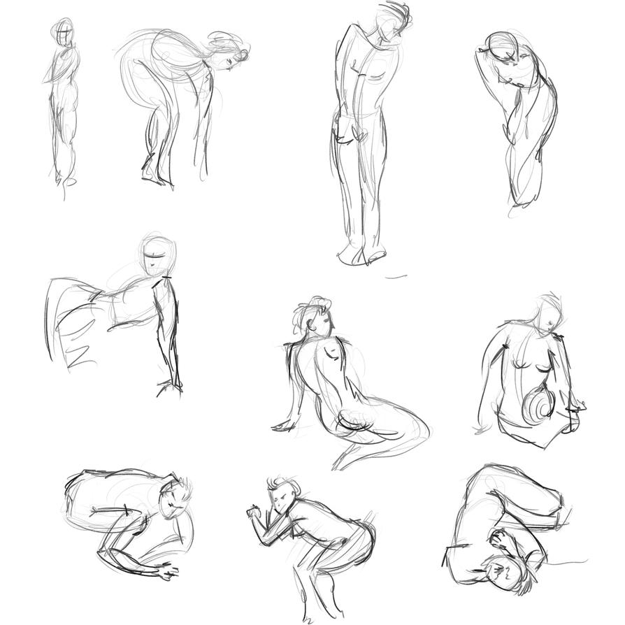 Gestures 41 by Reortanath
