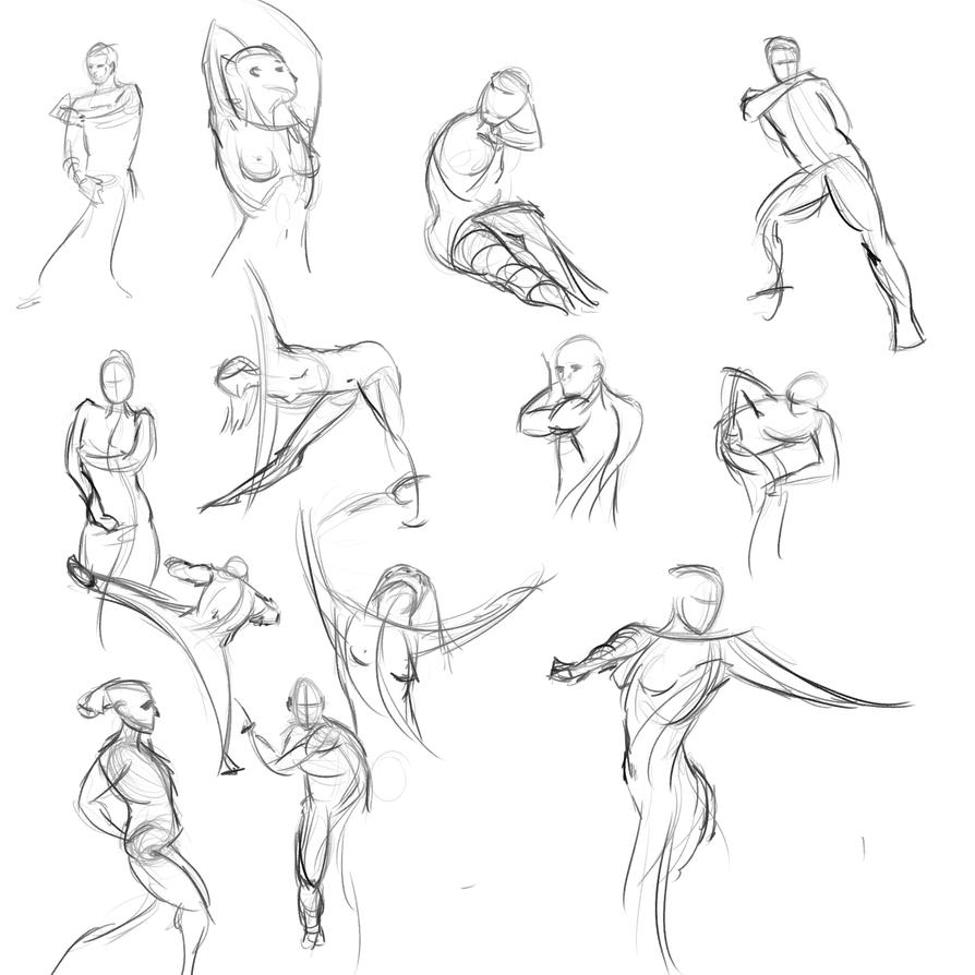 Gestures 42 by Reortanath