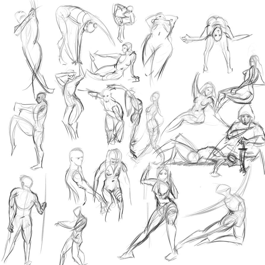 Gestures 43 by Reortanath