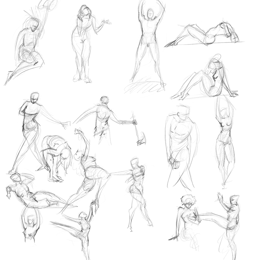 Gestures 44 by Reortanath