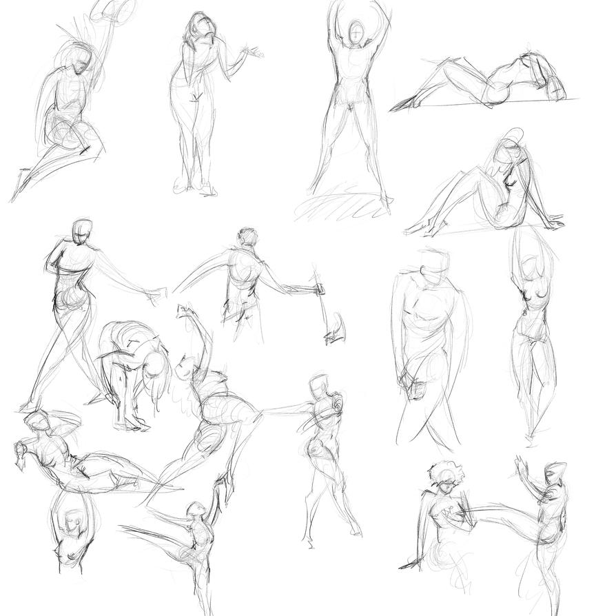 Gestures 44 by Reortanath