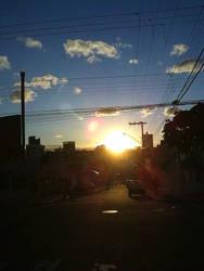 City Sunset by DeceptMasterJJ