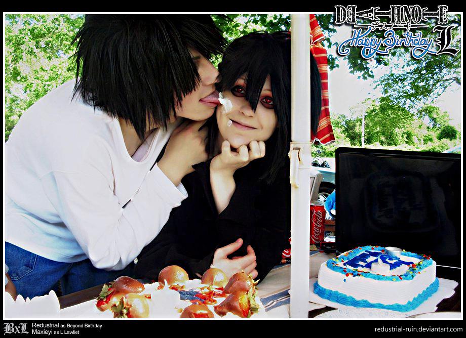 Death Note: BxL: Happy Birthday, L by Redustrial-Ruin