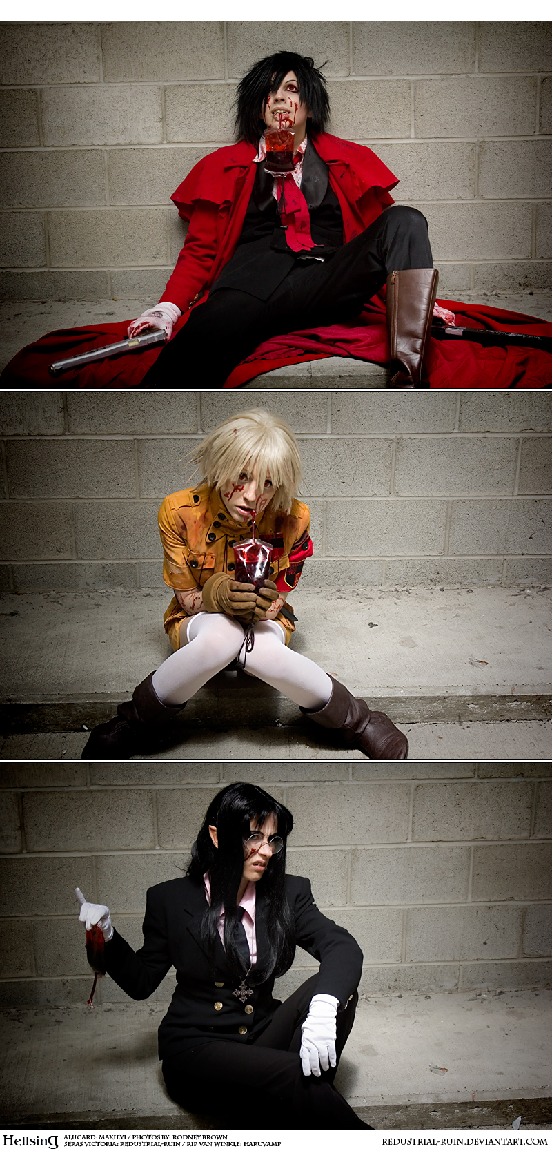 Hellsing Cosplay: What's Your Blood Type? by Redustrial-Ruin