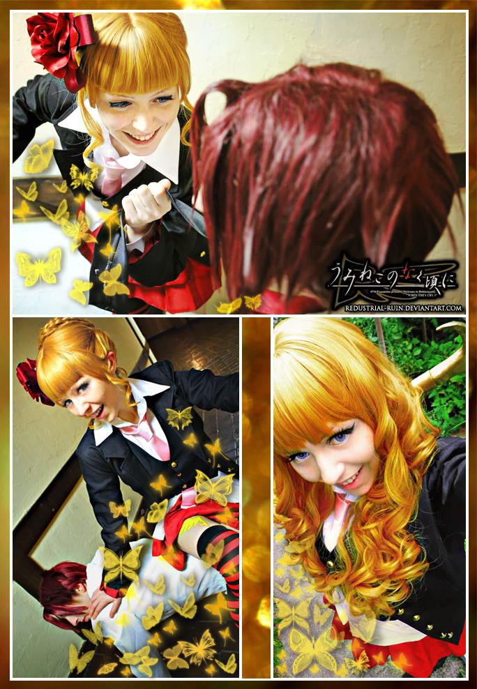 Umineko: Beatrice Cosplay: Golden Slaughterer by Redustrial-Ruin