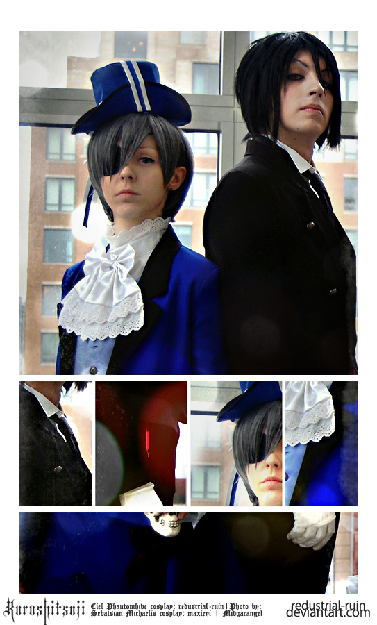 Kuroshitsuji: Ciel and Sebastian: Behind You by Redustrial-Ruin