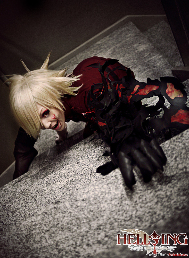Hellsing Cosplay: Seras : Terror in the Depths by Redustrial-Ruin
