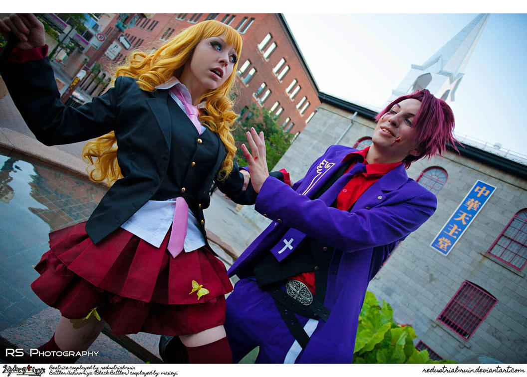 Umineko Cosplay: Don't look at me with such eyes.. by Redustrial-Ruin