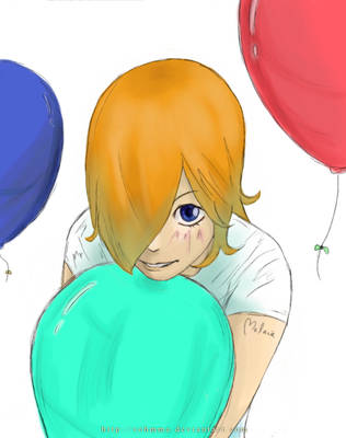 Project Melanie: Balloons by Sohmma