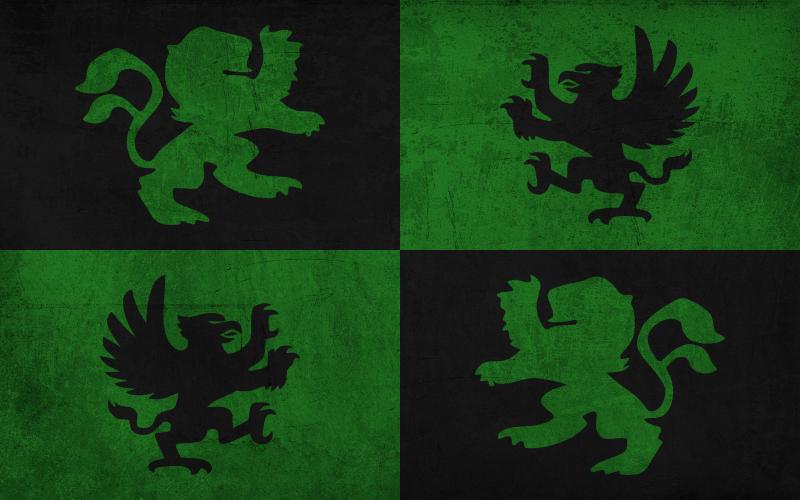 Resultado de imagen de flag with animals