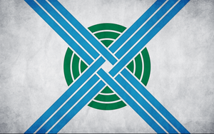 Flags of Touhou: Nitori Kawashiro (Alternate) by GreatPaperWolf