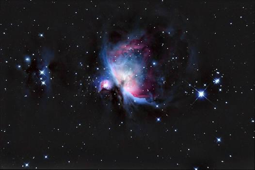 The Great Orion Nebula..