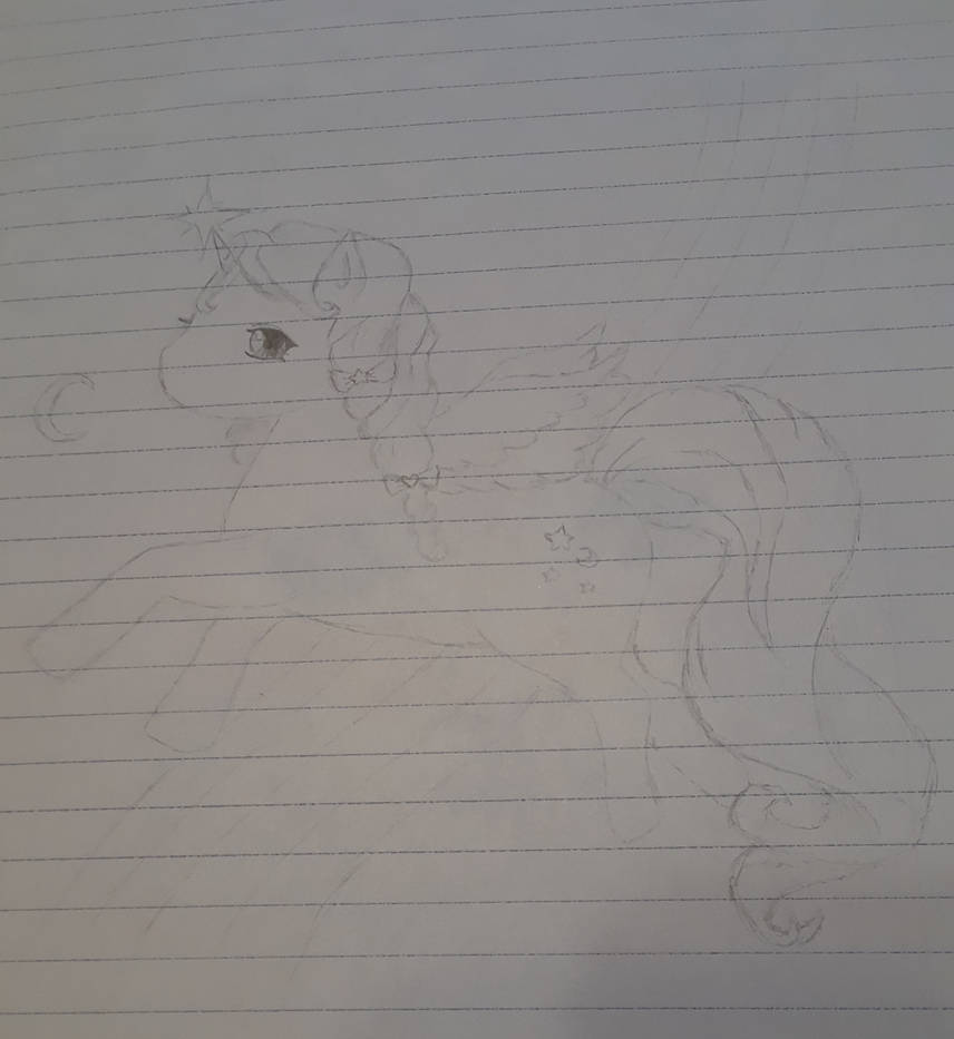 Unicorn by Flutterpusheen