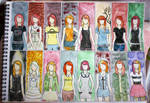 Hayley MV Outfits