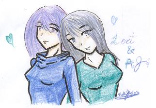 Like Sisters by ArtAlchemist