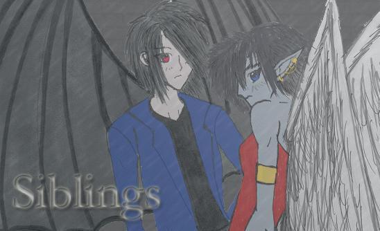 Siblings by ArtAlchemist