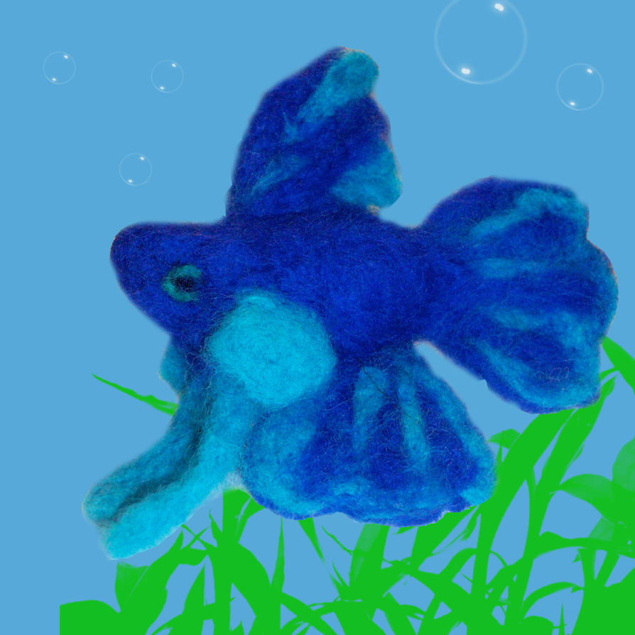 Betta fish by stcoraline on deviantart for Toys for betta fish