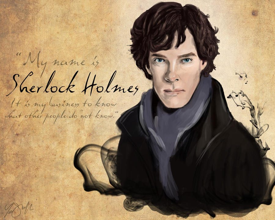 Sherlock by StCoraline