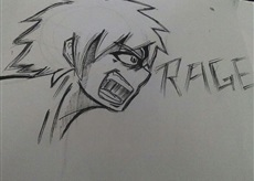Incer Rage Face Practice. by Kites1224