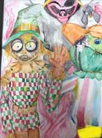 Scarecrow by PaintedFreakshow