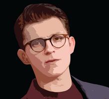 Tom Holland by PaintedFreakshow