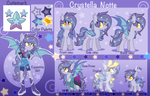 Crystella Notte reference sheet