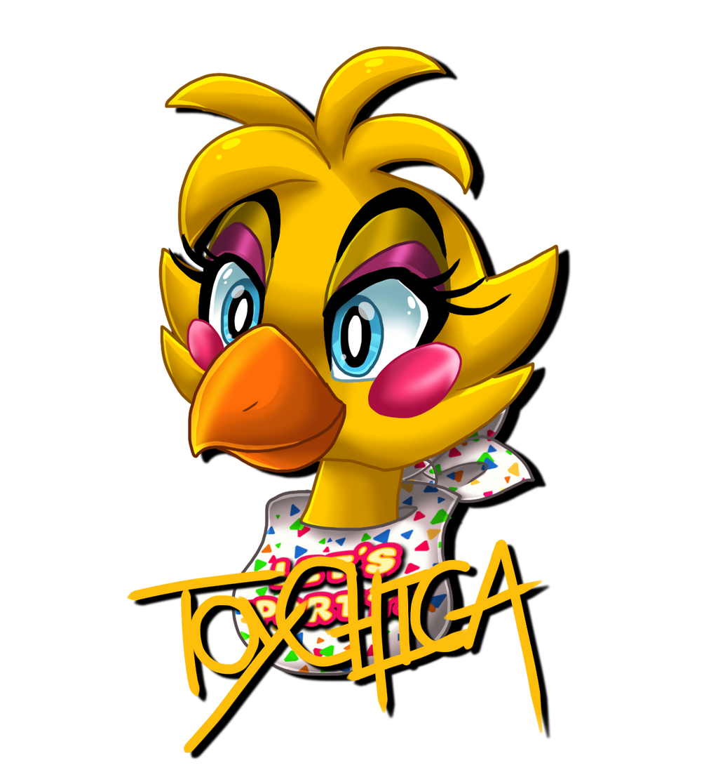 Chica Toy Chica Favourites By Goldenafro On Deviantart: Toy Chica Headshot By XXNovaNepsXx On DeviantArt