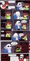 Undertale comic: Reforming Chara