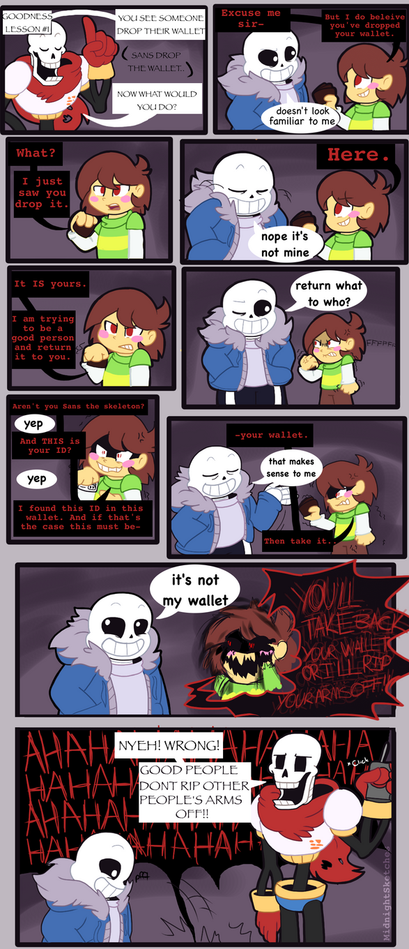 Undertale Comic Reforming Chara By Xxnovanepsxx