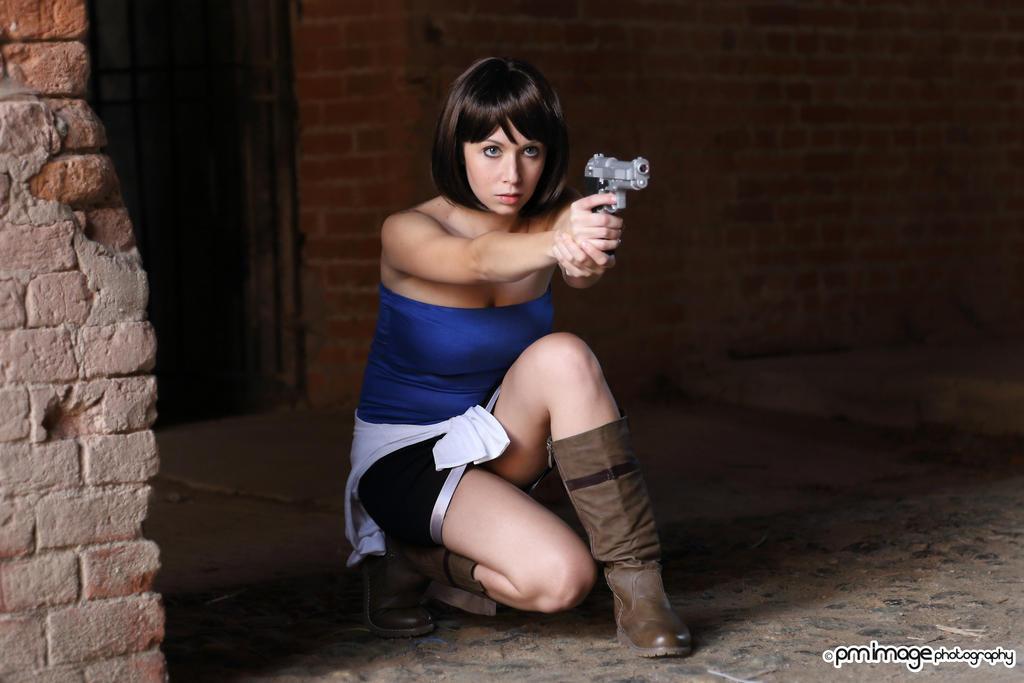 Jill Resident Evil by AmuChiiBunny