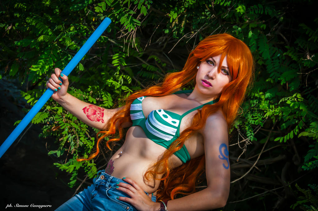 [Sexy Cosplay] Nami (One Piece) by AmuChiiHinamori