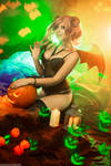 Original Succubus Halloween version 2 by AmuChiiBunny