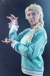 Elsa ( Frozen ) Ralph Breaks the Internet 1 by AmuChiiBunny