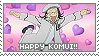 Stamp: Happy Komui by sirbartonslady