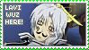 Stamp: Lavi Wuz Here by sirbartonslady