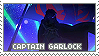 Stamp: Captain GARlock by sirbartonslady